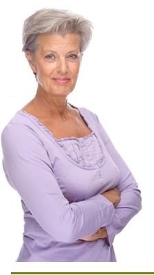 senior femme