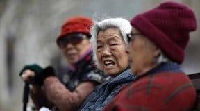 personnes âgées en Chine