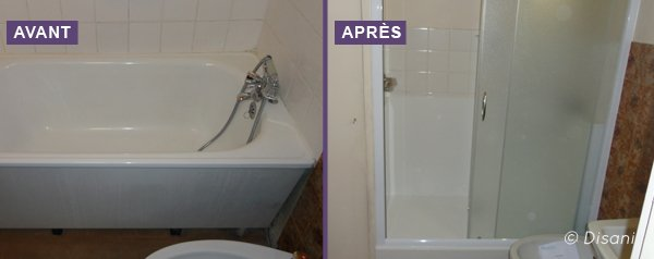 am nager la salle de bain d 39 une personne g e tarifs et conseils. Black Bedroom Furniture Sets. Home Design Ideas