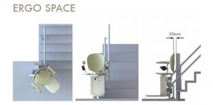 Monte-escalier SpaceSaver